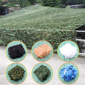 New Woodland leaves Camouflage Camo Army Net Netting Camping Military Hunting