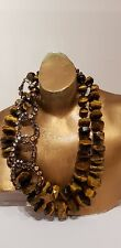 Tiger-eye Necklace By Siman Tu