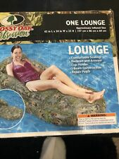 Mossy Oak Obsession Pool Raft Lounge Camo 62L x 34W x 25H BRAND NEW