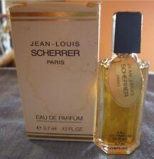 """MINIATURE DE PARFUM JEAN LOUIS SCHERRER """"SCHERRER"""" EDP 3,7ml PLEINE AVEC BOITE"""