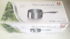 14cm (1.2l) S/Steel Saucepan. For heat sources incl Induction by Beka Synergy