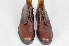COLE HAAN Country Brown Leather Ankle Lace Chukka Boots Women Shoes Size 8AA