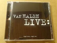 2-DISC CD / VAN HALEN LIVE: RIGHT HERE, RIGHT NOW (WARNER BROS)