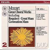 Mozart: Great Choral Works (CD, Dec-1993, 2 Discs, Philips)