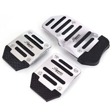 3PCS Car Auto Vehicle Non-slip Pedal Aluminium Alloy Foot Treadle Cover Pad Pop
