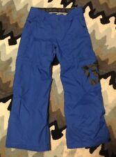 DC Banshee Snowboard Exotex 5k Pants Youth Large Snow pants Blue