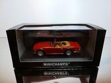 MINICHAMPS 132572 TRIUMPH TR 6 1968-76 - RED 1:43 - EXCELLENT IN BOX