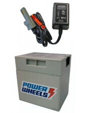Power Wheels Dune Racer Y6533 Replacement 12 Volt Rechargeable Battery & Charger