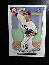 2014 Bowman #BP82 Kendry Flores San Francisco Giants Baseball Rookie Card