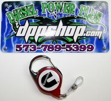 Cummins dodge belt loop badge tag holder clip key chain lanyard diesel gear ID