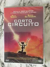 DVD CORTO CIRCUITO NUOVO ITALIANO SIGILLATO FUORI CATALOGO RARO 8031179909711