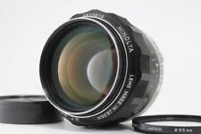 [Exc++++] MINOLTA MC ROKKOR-PG 58mm f1.2 MF Lens From Japan