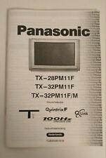Panasonic Gebruiksaanwijzing - TX-32PM11F -28PM11F Kleurentelevisie nederlands