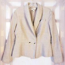 Lilli Ann Adolf Schuman Vtg Women's Sz L blazer Jacket Double Breasted Wool.