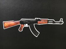 AK-47 Kalashnikov Vinyl Decal Window Car Gun Rights Sticker Assault AK Rifle 3M