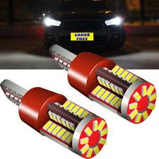 Fits Honda HR-V MK1 White LED Superlux Side Light Beam Bulbs Pair Upgrade