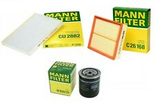 Mann Oil Air Paper Cabin Filter Service Kit for Volkswagen Passat 2.8L V6 02-05