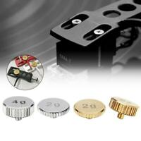 Durable Headshell 2g or 4g Shell Weight LP Player Turntable Cartridge Parts