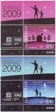 Slovenia 2009 Europa/Astronomy/Observatory/Stars/Planets/Comet 2v set (n44408)