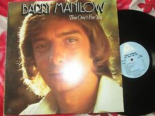 Barry Manilow ‎– This One's For You Arista ‎– AL 4090  UK Vinyl LP Album
