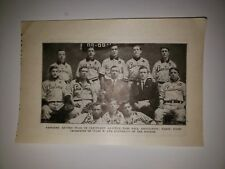 Pastimes Cleveland Ohio 1912 Baseball Team Picture VERY RARE