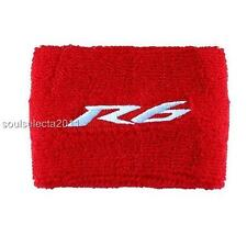 YAMAHA R6 BRAKE RESERVOIR COVER OIL CUP COVER GP SOCK SET YZF 600 S RED/WHITE