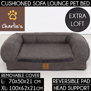 Charlie's Eco-Friendly Anti-Scratch Cover Durable Deluxe Pet Cat Dog Couch Bed