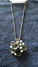 Pearl Enamel Mixed Metals Costume Jewellery