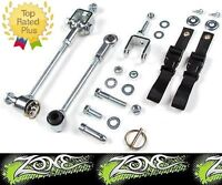 "Zone J5451 3-4"" Front Sway Bar Disconnects lift kits for 84-01 Jeep Cherokee XJ"