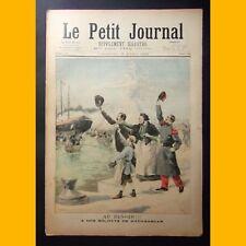LE PETIT JOURNAL Suppl. illustré MADAGASCAR volontaires russes 28 avril 1895