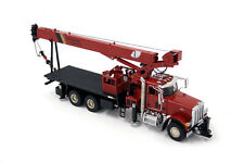 TWH - Peterbilt National Crane 1300H Boom Truck. In Red. 1:50th Discontinued.