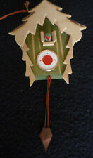 Mini Doll House Cuckoo Clock or wood ornament Rumania