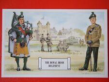 MILITARY POSTCARD -THE ROYAL IRISH REGIMENT BY DOUGLAS ANDERSON