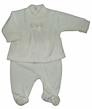 Bebé de Dos Piezas Terciopelo Conjunto Tradicional Recién Nacido a 3-6 Meses 215babc0316b