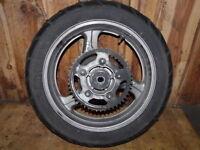 Hinterrad / rear wheel / Honda XL 1000 V-SD01