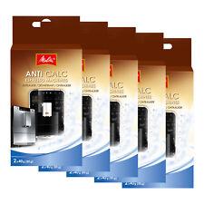 5 x MELITTA ANTI CALC original Espresso Maschinen Entkalkerpulver