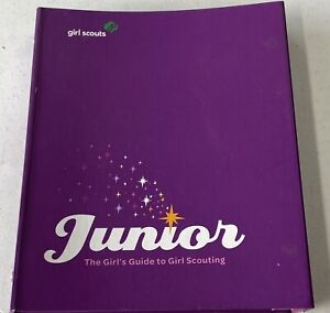 Girl Scout JUNIOR The Girl's Guide to Girl Scouting Book Binder Organizer