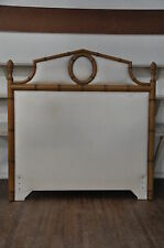 Century Furniture Company Queen Size Faux Bamboo Headboard