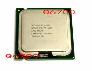 Intel Core 2 Quad Q6700 SLACQ CPU 2.66 GHz HH80562PH0678MK 1066 MHz 100% work