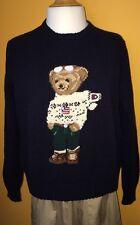 Vintage Polo Sport Ralph Lauren Bear Women Size L