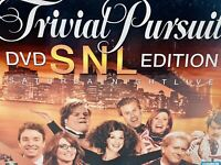 Parker Brothers Trivial Pursuit DVD Saturday Night Live Edition Factory Sealed