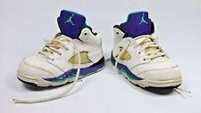 Nike Air Jordan V 5 Grape Retro 2013 Td Toddler baby sneakers 440890-108 size 6C