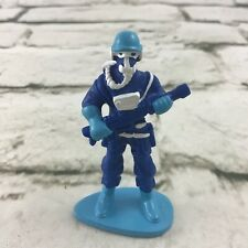 "Space Soldier With Weapon And Respirator Figure 2.25"" PVC Collectible Toy"