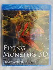Flying Monsters [2010] (Blu-ray 3D+Blu-ray)~~~David Attenborough~~~NEW & SEALED