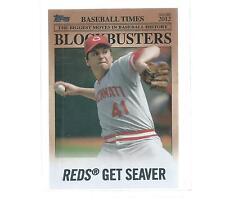 2012 TOPPS UPDATE BASEBALL BLOCKBUSTERS TOM SEAVER #BB-12