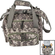 "13"" Army Digital Camo Cooler Lunch Bag Box with Zip-Out Liner Camping School"