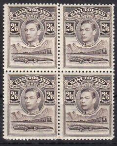 Basutoland 26 4er-Block postfr./mnh George VI 1938
