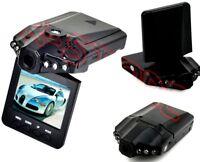 """TELECAMERA AUTO MINI DVR VIDEOREGISTRATORE HD MONITOR LCD 2.5"""" 6 LED 720P"""