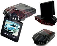 "TELECAMERA AUTO MINI DVR VIDEOREGISTRATORE HD MONITOR LCD 2.5"" 6 LED 720P"