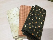 Quilting/patchwork/craft fabric, 100% cotton, Chickens On The Run, Fat Quarters